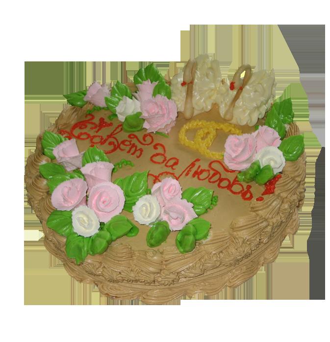 Красивый торт замок фото 3